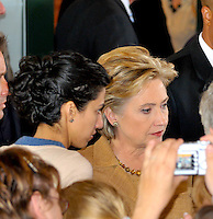 Huma Abedin & Hillary Clinton By Jonathan Green