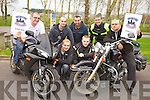 Announcing plans for this Sunday's Dyno Day and Stunt Show in aid of Down's Syndrome Ireland at O'Neill's in Clash, Tralee, l-r: Mark Ennis, Paul Stewart, Darren Bustard, Tom Dolan, Niall O'Neill, Raymond O'Neill and Barry O'Connor. .