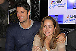 "Days of our Lives James Scott and Crystal Chappell at a book signing for ""Days Of Our Lives: A celebration in Photos - 45 years"" on February 25, 2011 at the NBC Experience Store, Rockefeller Center, New York City, New York. (Photo by Sue Coflin/Max Photos)"