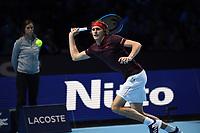 ALEXANDER ZVEREV (GER)<br /> <br /> TENNIS - NITTO ATP FINALS - 02 ARENA, LONDON, UNITED KINGDOM, 2017  <br /> <br /> <br /> <br /> &copy; TENNIS PHOTO NETWORK