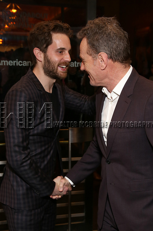 """Ben Platt and Bryan Cranston Attends the Broadway Opening Night of """"All My Sons"""" at The American Airlines Theatre on April 22, 2019  in New York City."""