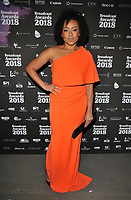 Jaye Jacobs at the Broadcast Awards 2018, Grosvenor House Hotel, Park Lane, London, England, UK, on Wednesday 07 February 2018.<br /> CAP/CAN<br /> &copy;CAN/Capital Pictures