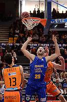 Lucic &amp; Harangody vs O'Leary<br /> Liga Endesa ACB - 2014/15<br /> J12<br /> Valencia Basket vs Herbalife Gran Canaria