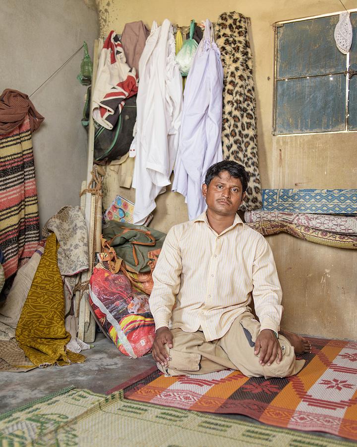 Mohammad Rafiq - a garment factory worker from Karachi.