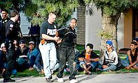 AJ ALEXANDER/AAP - Drop House Raid alleged Coyote Phoenix, AZ.Photo by AJ ALEXANDER (c)