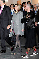 Princess Letizia of Spain  attend the inauguration of ARCO Contemporary Art Fair 2013 at Ifema. February 14, 2013. (ALTERPHOTOS/Caro Marin) /NortePhoto