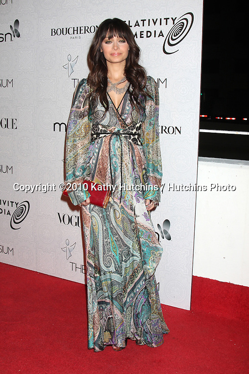Nicole Richie.arriving at the 3rd Annual Art of Elysium Gala.Rooftop of Parking Garage across from Beverly Hilton Hotel.Beverly Hills, CA.January 16, 2010.©2010 Kathy Hutchins / Hutchins Photo....