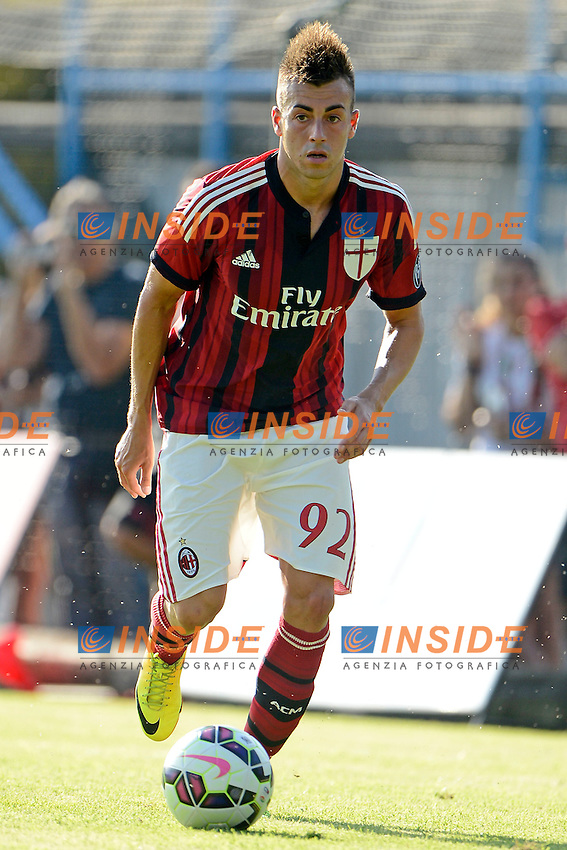Stephan El Shaarawy Milan<br /> Solbiate Arno 16-07-2014 Stadio Felice Chinetti - Football 2014/2015 amichevole. Milan - Renate Foto Giuseppe Celeste / Insidefoto