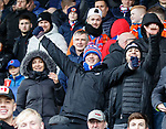 03.11.2018: St Mirren v Rangers: Rangers fans