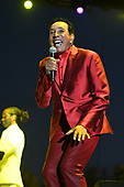 MIAMI GARDENS FL - MARCH 17: Smokey Robinson performs during Day 1 at Jazz In The Gardens at Hand Rock Stadium on March 17, 2018 in Miami Gardens, Florida. : Credit Larry Marano © 2018