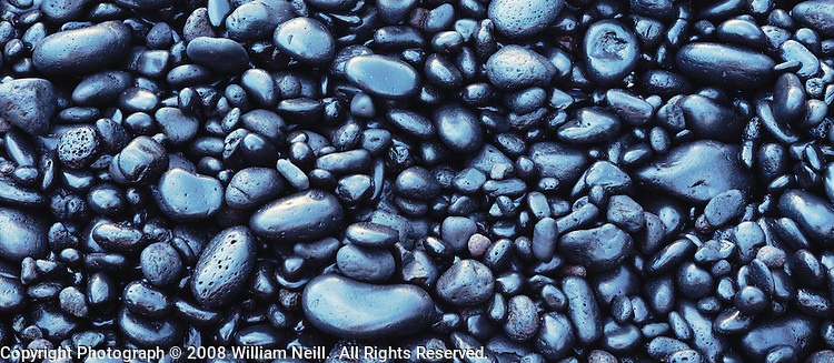 Black rock beach, Waianapanape State Park, Island of Maui, Hawaii