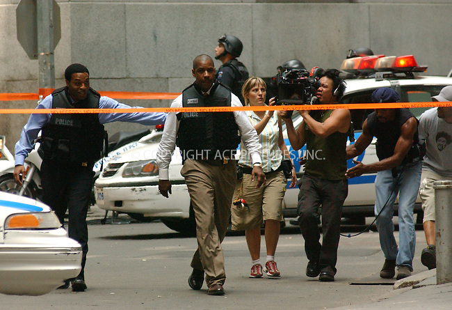 WWW.ACEPIXS.COM . . . . . ....NEW YORK, JULY 1, 2005....Denzel Washington on the set of 'Inside Man.'....Please byline: KRISTIN CALLAHAN - ACE PICTURES.. . . . . . ..Ace Pictures, Inc:  ..Craig Ashby (212) 243-8787..e-mail: picturedesk@acepixs.com..web: http://www.acepixs.com