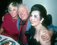 Jan &amp; Mickey Rooney Ann Miller 198<br /> Photo By John Barrett/PHOTOlink.net / MediaPunch