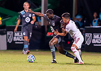 17th July 2020, Orlando, Florida, USA;  during the MLS Is Back Tournament between the Real Salt Lake versus Minnesota United FC on July 17, 2020 at the ESPN Wide World of Sports, Orlando FL.