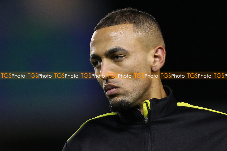 Kemar Roofe of Oxford United looks on before the match during Millwall vs Oxford United at The Den