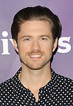 Aaron Tveit arriving at NBCUniversal Summer Press Day 2015 arrivals, held at the Langham Huntington Hotel Pasadena Ca. on April 2, 2015