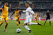 13th September 2017, Santiago Bernabeu, Madrid, Spain; UCL Champions League football, Real Madrid versus Apoel; Cristiano Ronaldo dos Santos (7) Real Madrid crosses into the box