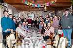 Double Celebration: Mother & daughter Mary & Eileen McGrath, Liselton seated front, celebrating their 50th & 21st birthdays respectively at the Thatch Bar, Liselton on Sunday afternoon last.