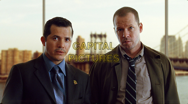 JOHN LEGUIZAMO & DONNIE WAHLBERG.in Righteous Kill.*Filmstill - Editorial Use Only*.CAP/FB.Supplied by Capital Pictures.