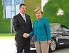 June 15-17,Berlin,GER Estonian Prime Minister Juri Ratas is welcomed by German Chancellor