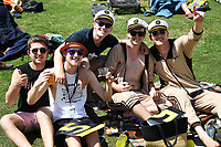 23rd November 2019; Mt Maunganui, New Zealand;  Fans on Day 3, 1st Test match between New Zealand versus England. International Cricket at Bay Oval, Mt Maunganui, New Zealand.  - Editorial Use