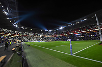 General View of Groupama Stadium of Lyon during the rugby test match between France and New Zealand at Stade des Lumieres on November 14, 2017 in Lyon, France. (Photo by Alexandre Dimou/Icon Sport)