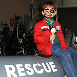 Allesio Palombo pictured at the Boyne Fishermans Rescue and Recovery open day. Photo: Colin Bell/pressphotos.ie