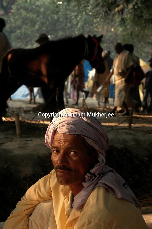 A horse owner at Sonepur fair. Bihar, India, Arindam Mukherjee