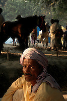 A horse owner at Sonepur fair. Bihar, India, Arindam Mukherjee