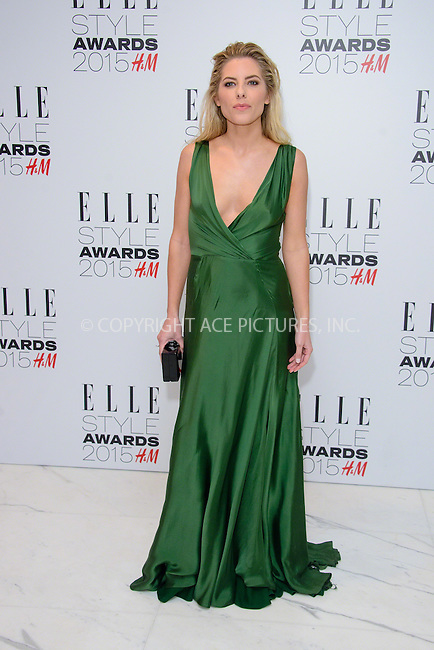 WWW.ACEPIXS.COM<br /> <br /> February 24 2015, London<br /> <br /> Mollie King arriving at the ELLE style awards 2015 at the Walkie Talkie Tower on February 24 2015 in London<br /> <br /> By Line: Famous/ACE Pictures<br /> <br /> <br /> ACE Pictures, Inc.<br /> tel: 646 769 0430<br /> Email: info@acepixs.com<br /> www.acepixs.com