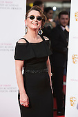 London, UK. 8 May 2016. Lesley Manville. Red carpet  celebrity arrivals for the House Of Fraser British Academy Television Awards at the Royal Festival Hall.