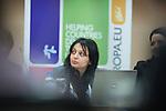 Ohrid - Macedonia - 25 October 2011 -- ETF IPA SOC Network Meeting -- Majlinda Lika in the plenary sessions at Metropol Hotel, Ohrid -- PHOTO: Ard JONGSMA / EUP-IMAGES