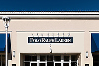 Polo by Ralph Lauren factory store, Orlando, Florida, USA.