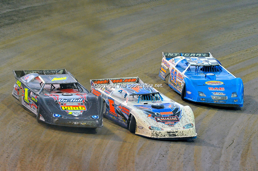 Jun 12, 2010; 8:38:32 PM; Rossburg, OH., USA; The running of the Dream XVI  Dirt Late Models at the Eldora Speedway paying $100,000 to win.  Mandatory Credit: (thesportswire.net)
