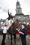Langholm Common Riding 2016Langholm Common Riding 2016. Second Fair Crying, Proclamation of Langholm Fair and Common Riding done by standing on a horses back