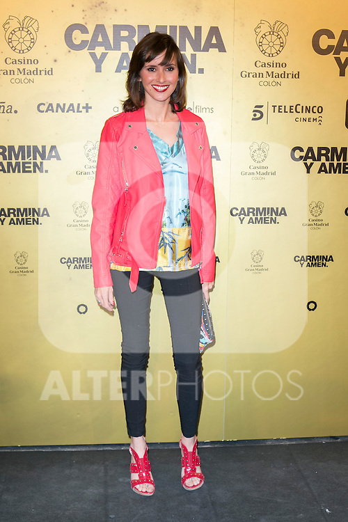 "Marina San Jose  attend the Premiere of the movie ""Carmina y Amen"" at the Callao Cinema in Madrid, Spain. April 28, 2014. (ALTERPHOTOS/Carlos Dafonte)"