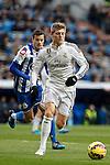 Real Madrid´s Toni Kroos during La Liga match at Santiago Bernabeu stadium in Madrid, Spain. February 14, 2015. (ALTERPHOTOS/Victor Blanco)