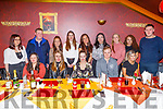 Sarah Brosnan from Lissenarla celebrating her 30th birthday in Ristorante Uno on Saturday.<br /> Seated l to r: Amy Auchincloss, Blathnaid Quirke, Sarah Brosnan, Shane Swanick and Blainig Finn.<br /> Back l to r: Rihanna Ward, Jamie Moloney, Nicole O'Sullivan, Noreen Landers, Grainne O'Rourke, Joanna Ycasas, Patriz and Niamh Brosnan and Jason Conway.