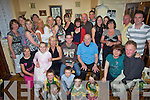 Good Luck - Friends and family of Colin Looney, Balloonagh, seated centre, gathered in his grandfather's house at Spa Road on Saturday night to wish him well as he's heading down under...... ............Good Luck - Friends and family of Colin Looney, seated centre, gathered at his grandfather's (Christy Tobin) house, Spa Road on Saturday for a Bon Voyage party.