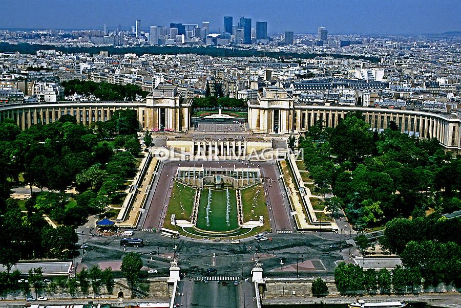 Cidade de Paris. França. 1997. Foto de Rogério Reis.