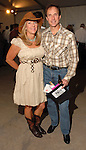 Debbie and Steve Pruett at the Cattle Baron's Ball at the George Ranch Saturday April 28,2007.(Dave Rossman/For the Chronicle)