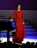 Alicia Keys performs at the Inaugural Ball at the Washington Convention Center in Washington, D.C. on Monday, January 21, 2013..Credit: Ron Sachs / CNP.(RESTRICTION: NO New York or New Jersey Newspapers or newspapers within a 75 mile radius of New York City)