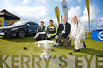 Peter Naughton, Kieran Donaghy, Paul Stephenson, Frank Stephenson at the Golf Digest Volvo Open at Tralee Golf Course in Barrow on Friday