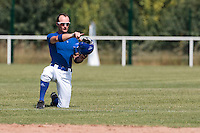 21 july 2010: Joris Bert of Team France is seen during a practice prior to the 2010 European Championship Seniors, in Neuenburg, Germany.
