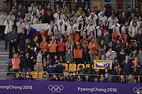 OLYMPIC GAMES: PYEONGCHANG: 16-02-2018, Gangneung Oval, Long Track, 5.000m Ladies, ©photo Martin de Jong