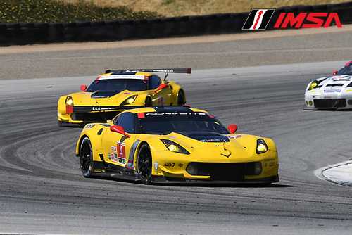 29 April - 1 May, 2016, Monterey, CaliforniaUSA<br /> 4, Chevrolet, Corvette C7, GTLM, Oliver Gavin, Tommy Milner<br /> &copy;2016, Richard Dole<br /> LAT Photo USA