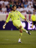 Carlo Cudicini. Tottenham defeated the New York Red Bulls, 2-1.