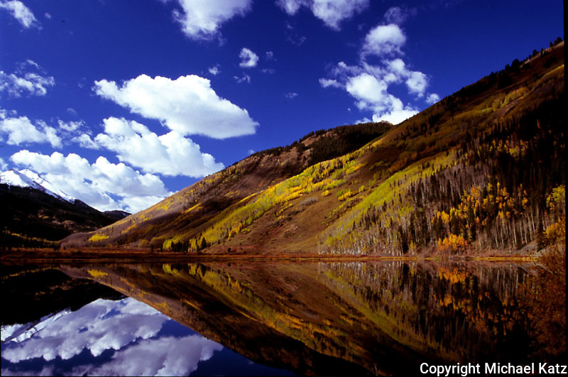Hillside Reflection, Crystal Lake, Colorado