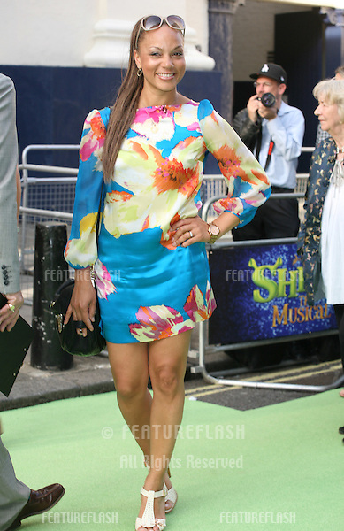 Angela Griffin attending the Shrek The Musical Press Night, at the The Theatre Royal, London. 14/06/2011  Picture by: Alexandra Glen / Featureflash