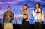 Fergie,Taboo & Apl.de.ap of The Black Eyed Peas live at The 102.7's KIIS-FM's Wango Tango 2009 held at The Verizon Wireless Ampitheatre in Irvine, California on May 09,2009                                                                     Copyright 2009 DVS/ RockinExposures